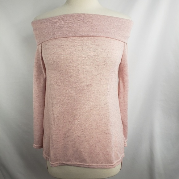 Chic Boutique Rose Tops - Chic Boutique Rose Pink Off Shoulder Top